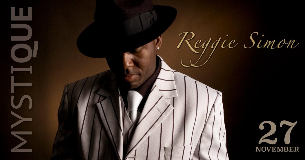 Reggie Simon på Mystique